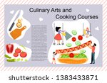 culinary art and cooking... | Shutterstock .eps vector #1383433871