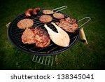 grill | Shutterstock . vector #138345041