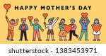 to celebrate mother 's day  the ...   Shutterstock .eps vector #1383453971