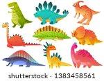 Cute Dino. Dinosaur Dragon Wil...