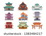 traditional pagoda buildings...