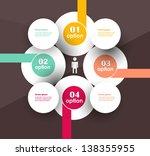 conceptual vector design... | Shutterstock .eps vector #138355955