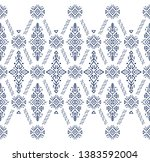 african ornament seamless... | Shutterstock .eps vector #1383592004