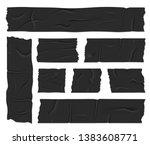 creative illustration of duct...   Shutterstock . vector #1383608771