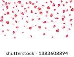 creative illustration of heart... | Shutterstock . vector #1383608894