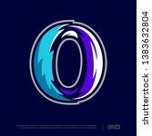 modern professional letter... | Shutterstock .eps vector #1383632804
