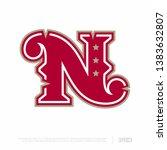 modern professional letter... | Shutterstock .eps vector #1383632807
