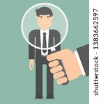 work performance review and...   Shutterstock .eps vector #1383662597