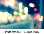 artistic style   defocused... | Shutterstock . vector #138367007