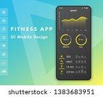 fitness app. parameter monitor. ...