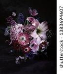 flowers of primroses  anemones  ... | Shutterstock . vector #1383694607