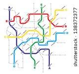fictitious city public... | Shutterstock . vector #138372377