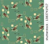halftone color texture... | Shutterstock .eps vector #1383741917