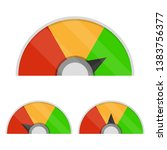 set of customer satisfaction... | Shutterstock .eps vector #1383756377