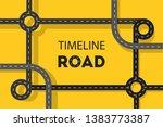 timeline road concept web...