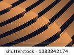 black premium background with... | Shutterstock .eps vector #1383842174