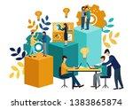 vector illustration  virtual...   Shutterstock .eps vector #1383865874