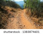 Dirt Road Down The Side Of A...