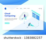 landing page the cloud...