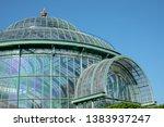 laeken  brussels belgium  april ... | Shutterstock . vector #1383937247