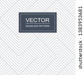 seamless vector pattern with... | Shutterstock .eps vector #1383953681