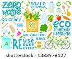 zero waste collection.vector...   Shutterstock .eps vector #1383976127