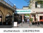 the berlin savignyplatz station....   Shutterstock . vector #1383981944