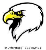 eagle head mascot | Shutterstock .eps vector #138402431
