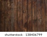 detail of wall made of wooden... | Shutterstock . vector #138406799