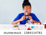 young african american kid... | Shutterstock . vector #1384114781