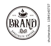 Vibes Coffee Logo Vector ...