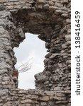 Medieval Stone Castle Ruins...
