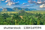 valley vi ales cuba world... | Shutterstock . vector #1384169594