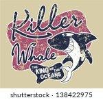 killer whale badge   artwork...