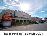 minsk  belarus   28 mar 2019.... | Shutterstock . vector #1384250024