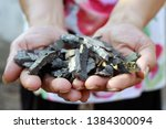fragments of artillery shells...   Shutterstock . vector #1384300094
