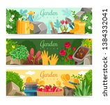 gardening and garden design... | Shutterstock .eps vector #1384332041