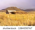 Fantastic Old Barn With A Sod...