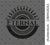 eternal dark icon or emblem....   Shutterstock .eps vector #1384418261