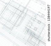 architecture concept. my design ... | Shutterstock . vector #138444197