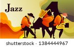 classic music festival jazz... | Shutterstock .eps vector #1384444967