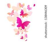 Butterflies Summer Design Vector