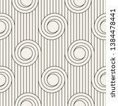 vector seamless pattern.... | Shutterstock .eps vector #1384478441