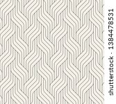 seamless pattern with geometric ... | Shutterstock .eps vector #1384478531