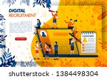 digital online recruitment for...
