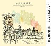 bangalore  bengaluru  ...   Shutterstock .eps vector #1384518737