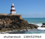 cape dombey obelisk in robe ...   Shutterstock . vector #1384525964