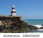 cape dombey obelisk in robe ...   Shutterstock . vector #1384526024