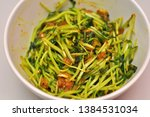 Stir Fried Tau Miu (Sweet pea sprout)