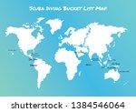 concept design of scuba diving... | Shutterstock .eps vector #1384546064